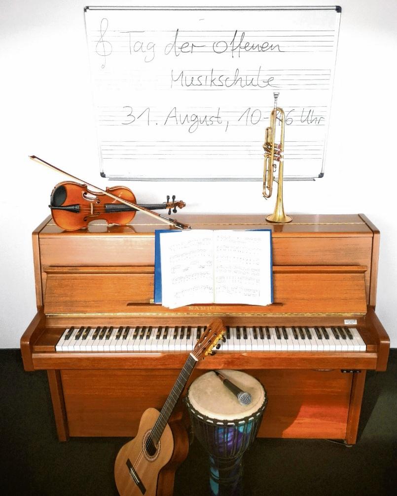 Tag der offenen Musikschule:   Samstag, 31. August. st