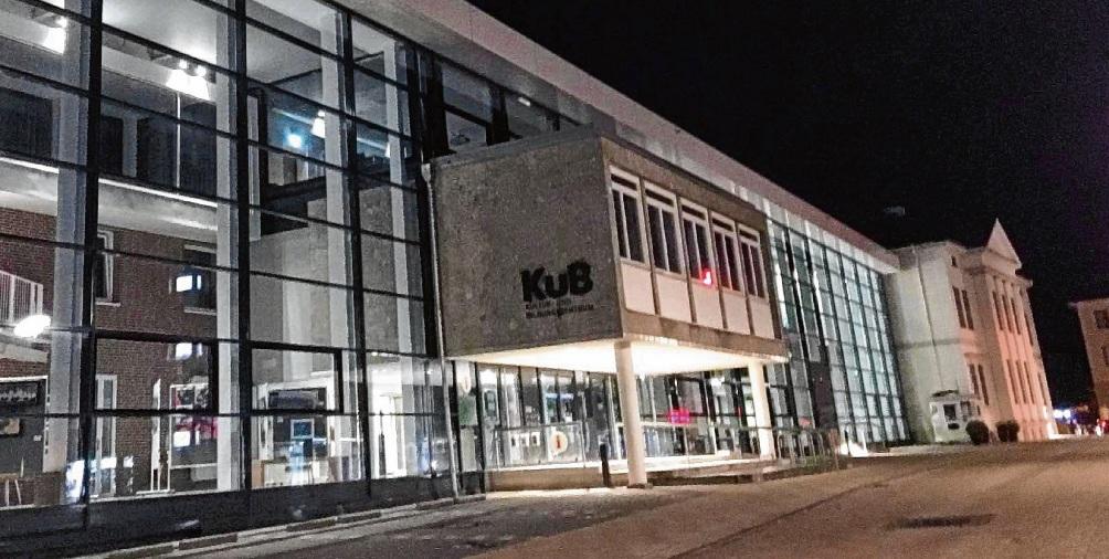"""Erste  offizielle """"Rudelsingen""""-Spielstätte im Land:  Kub.Nie"""