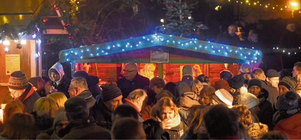 Der  Mühlrad-Weihnachtsmarkt erfreut sich bei den Oldesloern großer Beliebtheit und findet nun  erneut statt. Nie