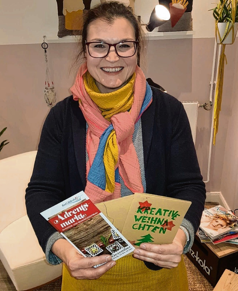 """Bringt neue Ideen: Daniela Frackmann von der """"Machbar""""."""