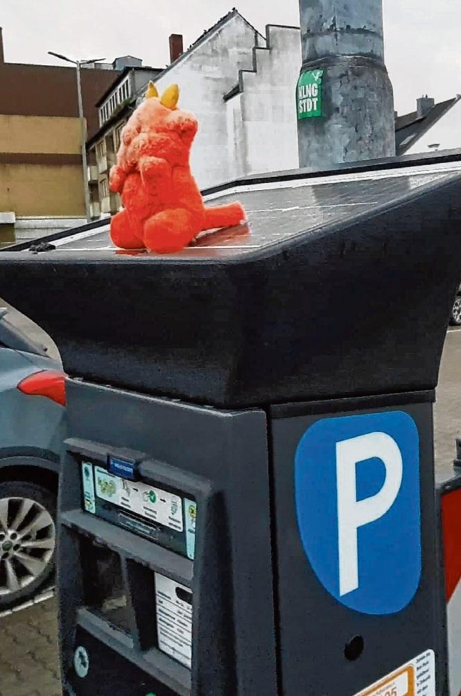 Ärgernis Parkautomat. nie