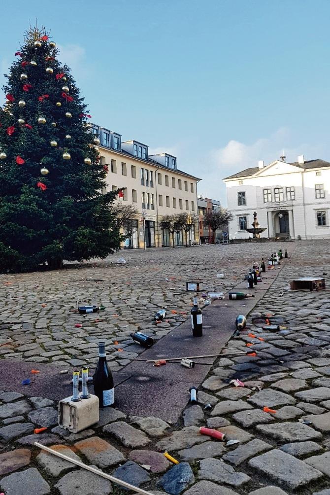 Was von den Feierlichkeiten blieb: Weihnachten und Silvester 2019 sind Geschichte.Nie