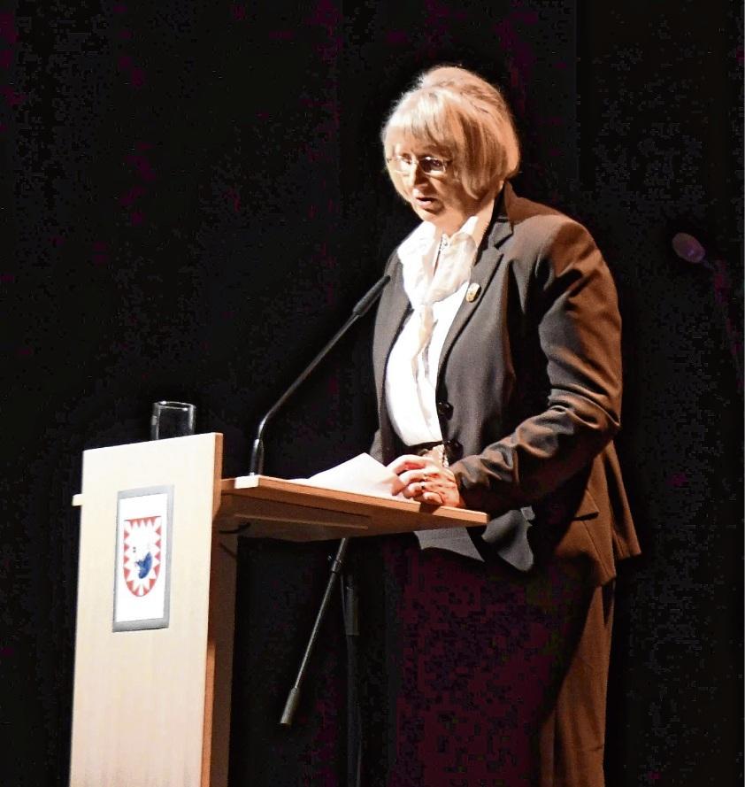Lobte Ehrenamt und Engagement gegen Rechts: Hildegard Pontow.