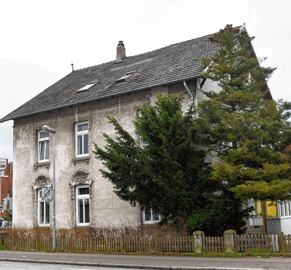 Die Unterkunft an der Lübecker Straße in Bad Oldesloe könnte abgerissen werden, um einem Neubau Platz zu machen. Patrick Niemeier
