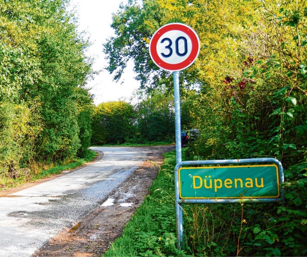 """Die """"Düpenau"""" Nie"""