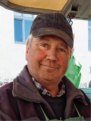 Willi Nagel ist Marktmeister in Oldesloe.