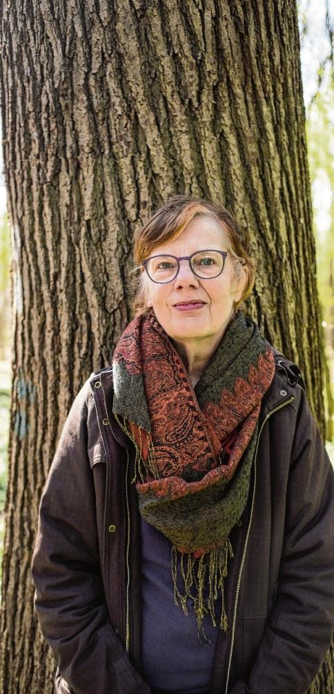 Freut sich auf Ihren Ruhestand nach 23 Jahren als Stadtarchivarin:  Dr. Sylvina Zander. privat