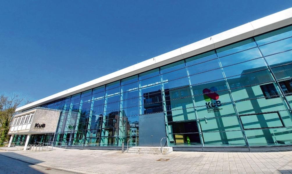 Derzeit mehr  Ruhestätte statt Musentempel: Bad Oldesloes  Kultur- und Bildungszentrum. nie