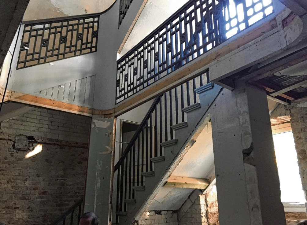 Das historische Treppenhaus im Herrenhaus des bei Bad Oldesloe gelegenen Guts wurde erfolgreich restauriert. Kultur-Gut
