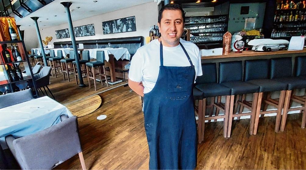 """Gastronom Alessio Zagari im """"Laurent"""": """"Wir sind optimistisch, dass wir es schaffen, wenn wir durchhalten und überzeugen."""" Nie"""