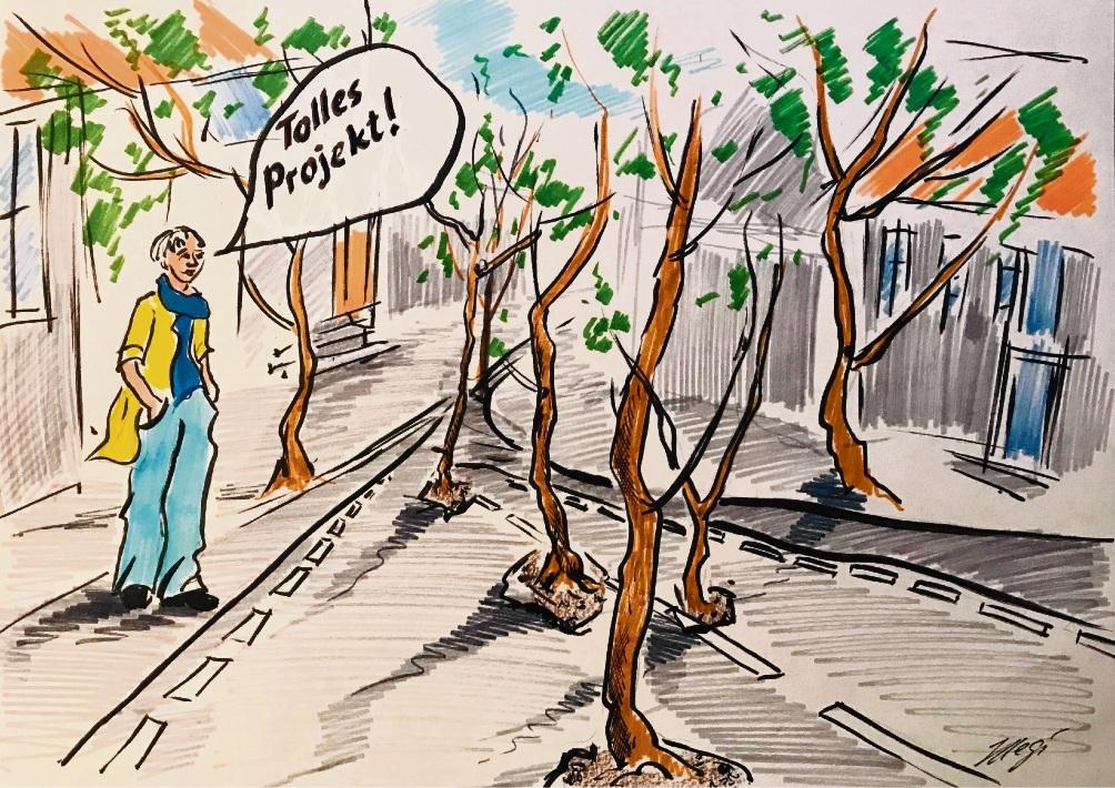 Eine neue Waldstraße!Megi Balzer