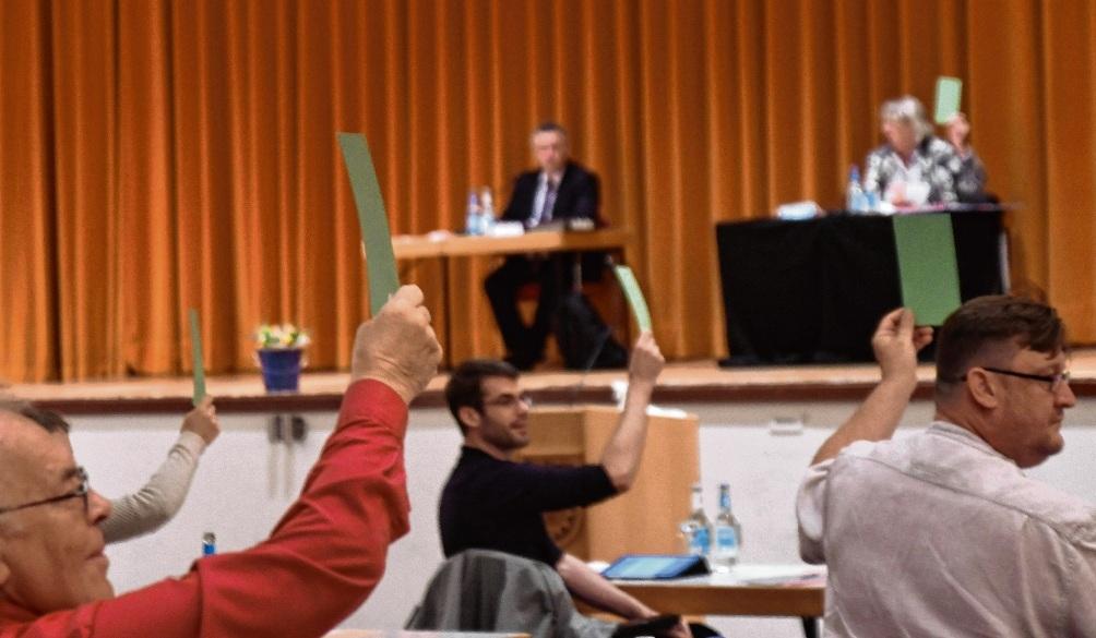 Mehrheit für den Beitritt: Abstimmung zum ICAN. Nie