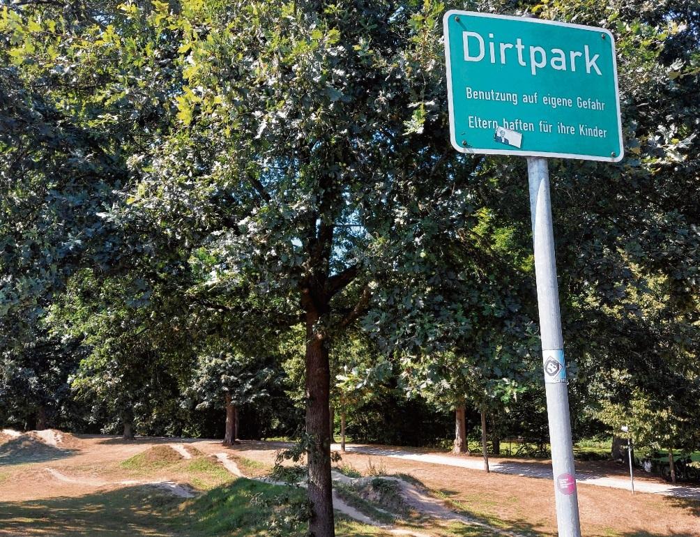 "Der ""Dirt-Park"". Nie"