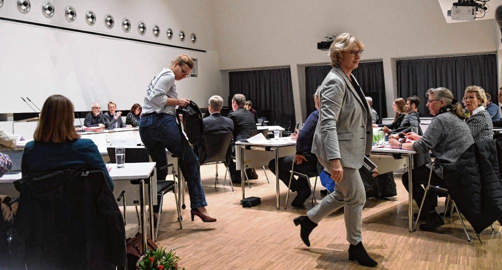 FDP und FBO verließen im Januar die Sitzung. Niemeier