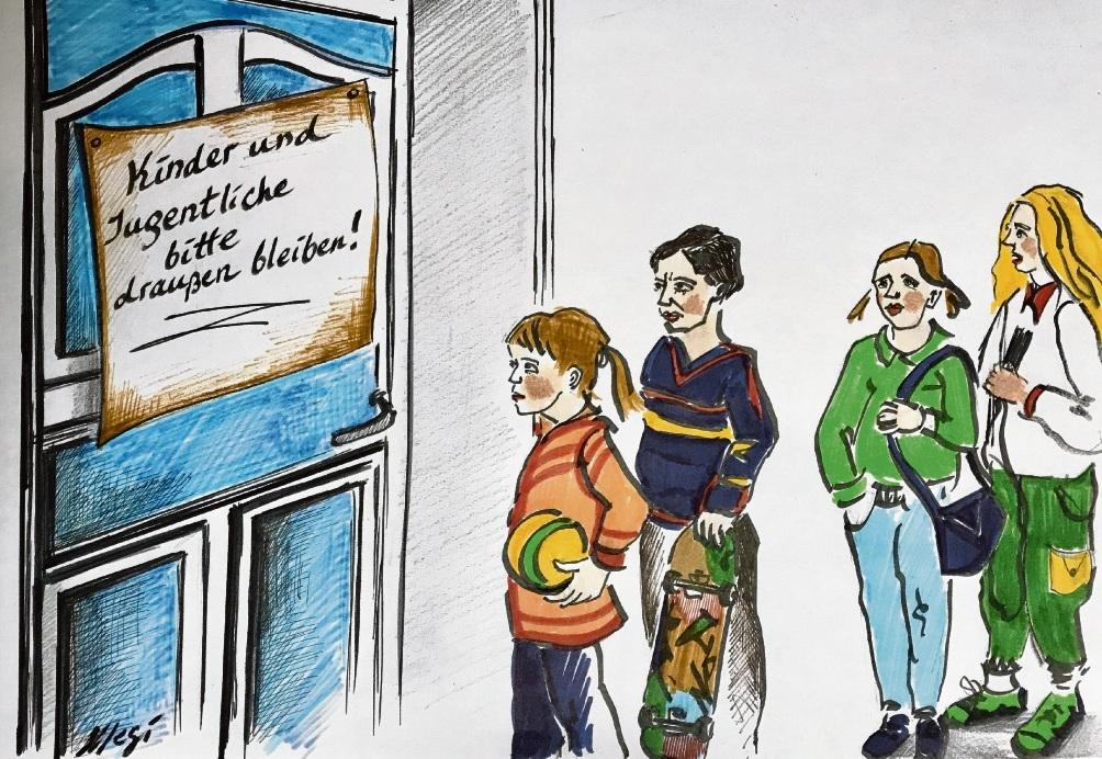Beirat vor verschlossenen Türen in Bad Oldesloe.Megi Balzer