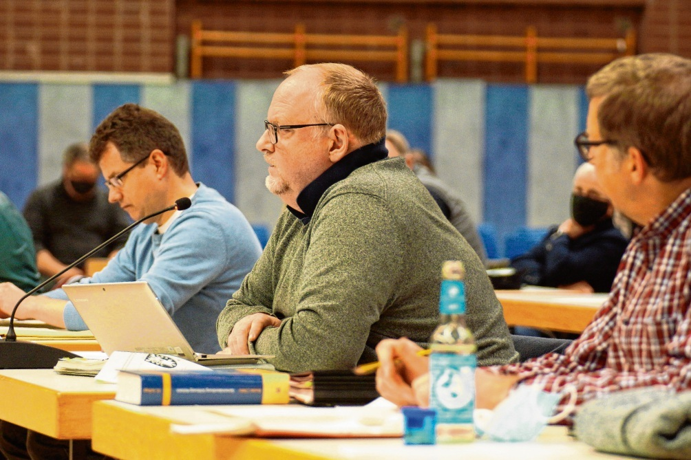 Jörn Lucas (CDU) sieht den Bedarf für neue Sportstätten.  finn fischer