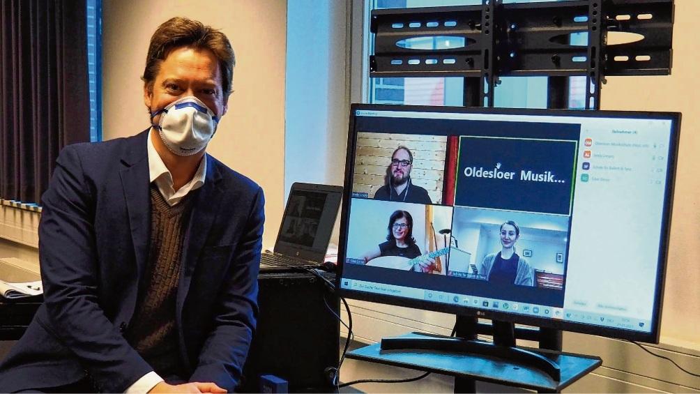 Die Oldesloer Musikschule startet zunächst online ins neue Semester. susanne rohde