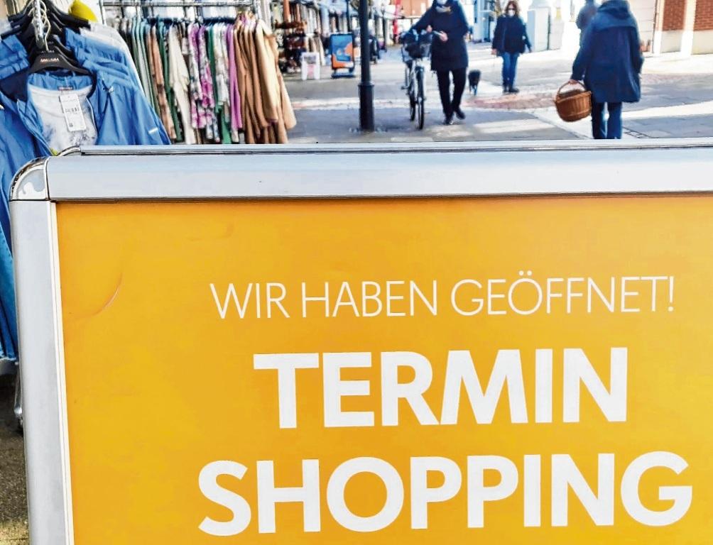 Doch geöffnet – der Einzelhandel geht nicht in die Oster-Ruhe.  Patrick Niemeier