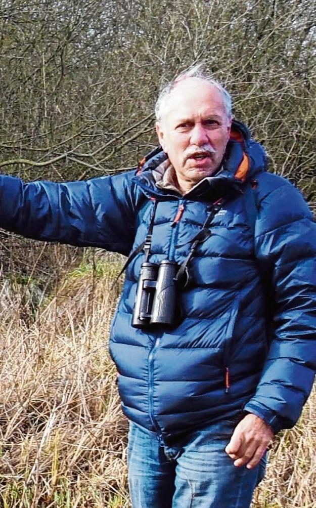 Bringt sich seit vielen Jahren aktiv ein: Klaus Gräber vom Nabu in Bad Oldesloe.  Susanne Rohde