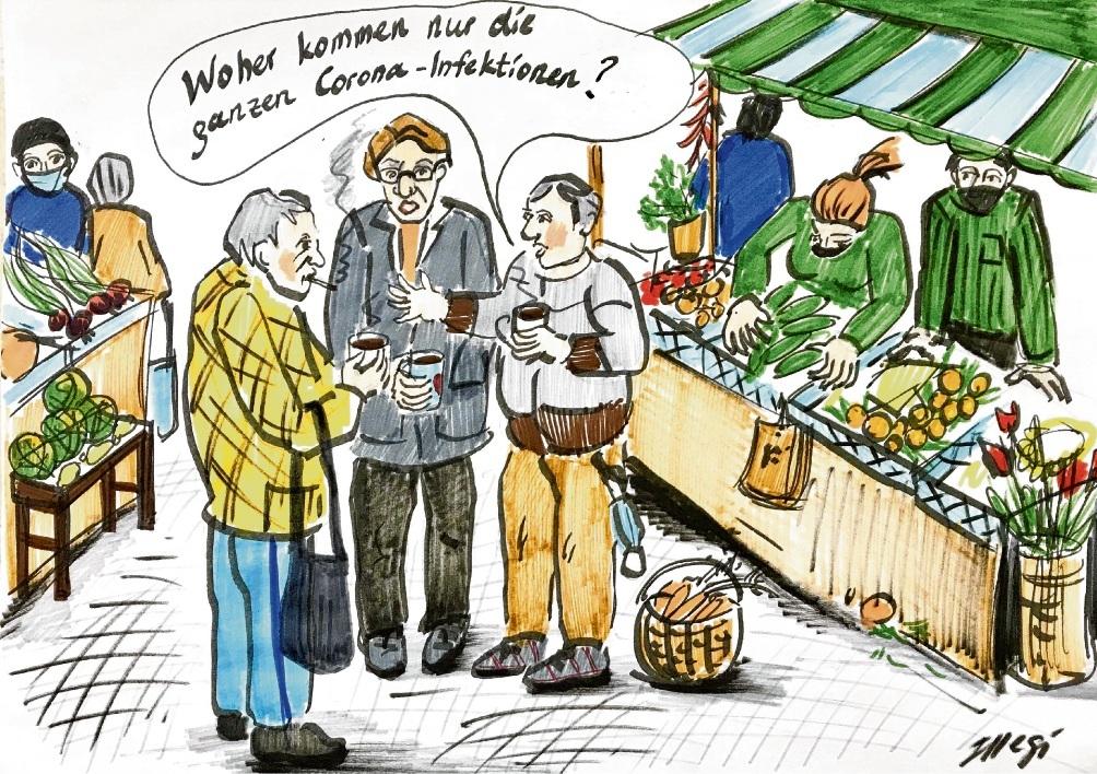 Karikatur: Megi Balzer