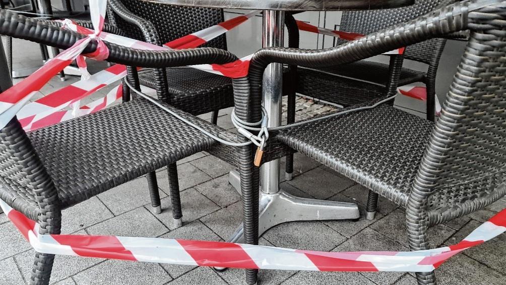 Die Außengastronomie wird in Stormarn ab morgen wieder schließen müssen.  Patrick Niemeier