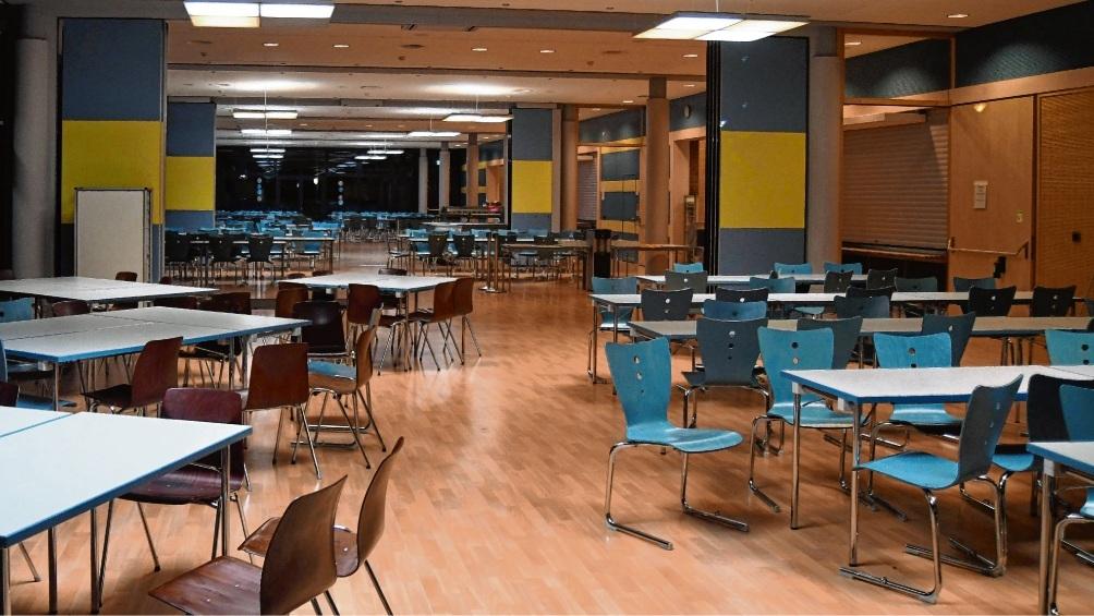 Die größte Oldesloer Mensa ist im Schulzentrum in der Olivet-Allee.  Patrick Niemeier
