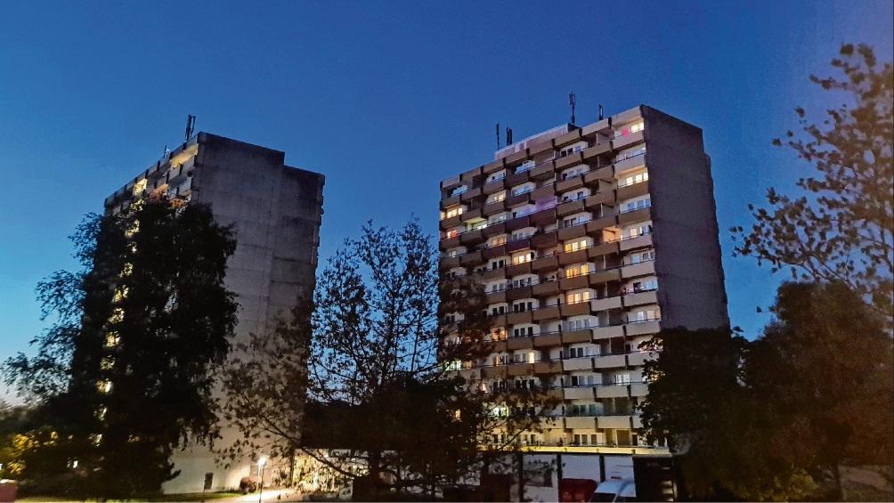 Die Hochhäuser im Hölk und Poggenbreeden. Patrick Niemeier