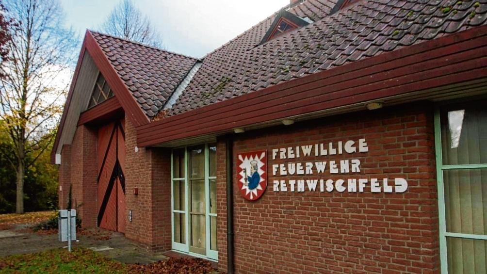 Das derzeitige Feuerwehrgerätehaus in Rethwischfeld.  Finn Fischer
