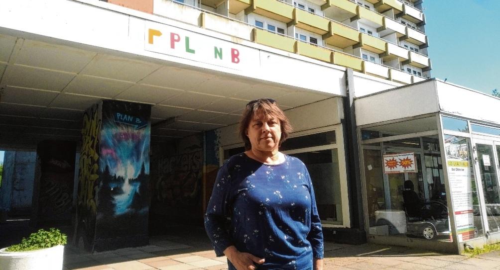 Maria Hermann vom Quartiersprojekt Plan B organisierte für die Hölk- und Poggenbreeden-Mieter einen Impftag.  Finn Fischer