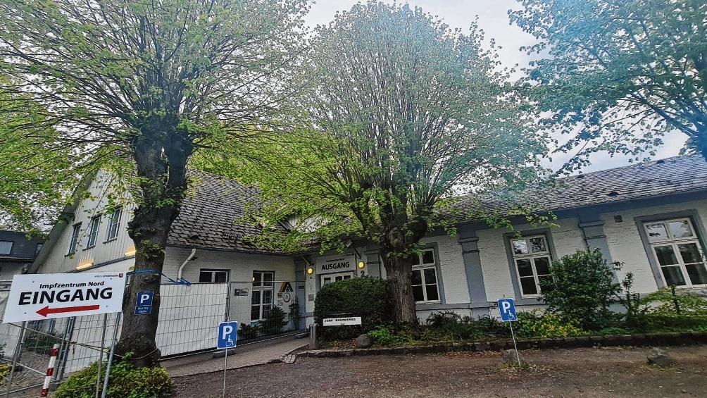 Aktuell ist die Jugendherberge in Bad Oldesloe das größte Impfzentrum im Kreis Stormarn.  Patrick Niemeier