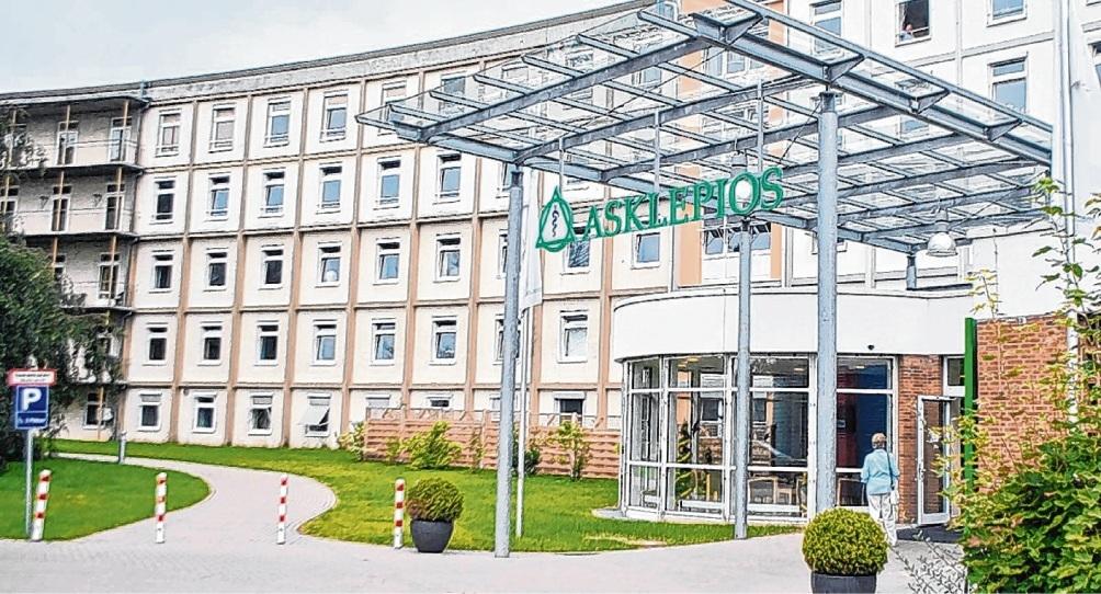 Seit August wurden in der Bad Oldesloer Asklepios-Klinik vier Corona-Patienten behandelt.  Patrick Niemeier