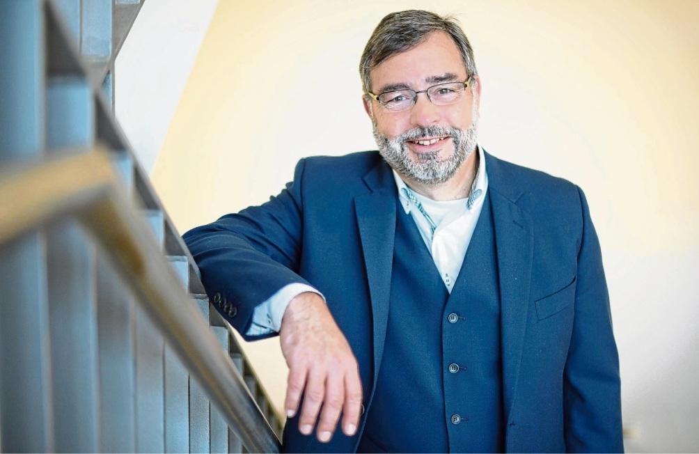 Logenmeister in Bad Oldesloe: Uwe Möllnitz.   Johannisloge Stormarn
