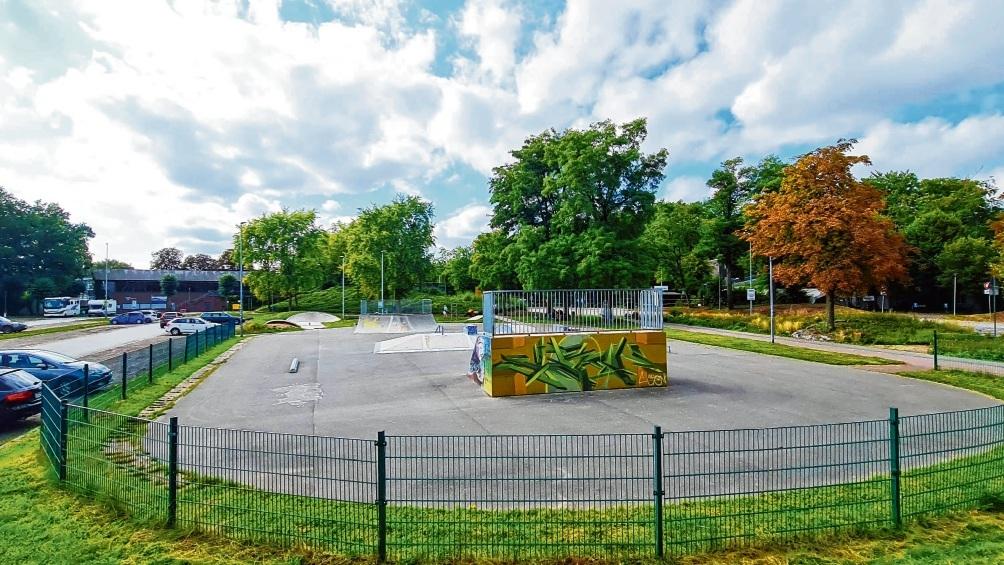 Das Skateland am Exer entstand in den 1990er Jahren und wurde erst kürzlich erweitert. Es ist für viele Jugendliche ein Anziehungspunkt.  Patrick Niemeier