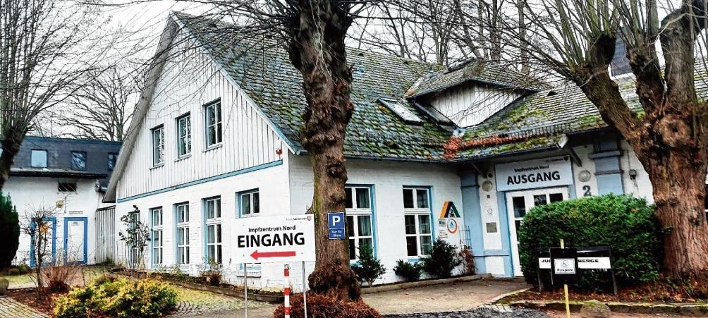 Schließt am 26. September: das Impfzentrum in der Jugendherberge Bad Oldesloe.  Patrick Niemeier