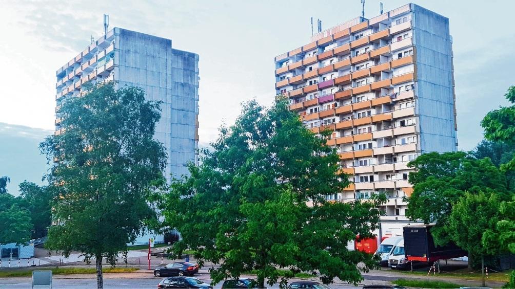 Die Hölk- und Poggenbreeden-Hochhäuser in Bad Oldesloe Patrick Niemeier