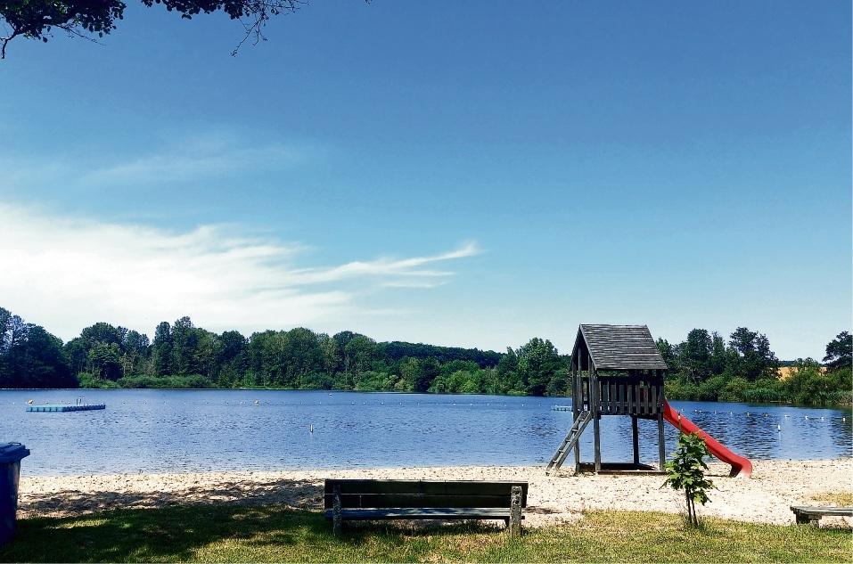 Wer übernimmt hier im nächsten Jahr die Verantwortung und Leitung: Der Strand des Natur-Freibads Poggensee.  Patrick Niemeier