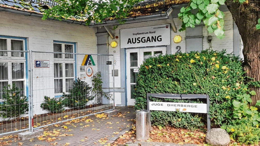 Der Eingang zur Jugendherberge bleibt für Jugendherbergsgäste noch bis 2023 geschlossen.  Patrick Niemeier