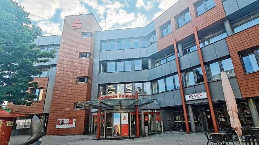 Die Sparkasse Holstein hat ihren Hauptsitz in Bad Oldesloe. Patrick Niemeier