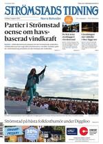 Förstasida Strömstads Tidning