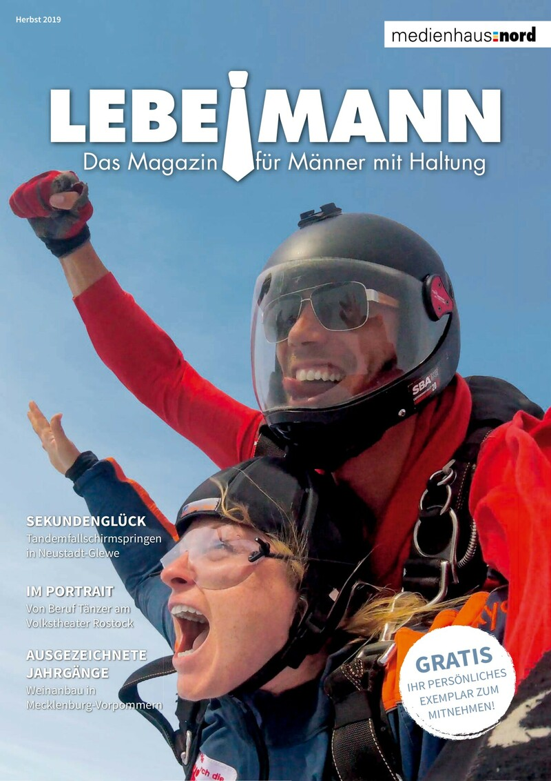 Männermagazin Lebemann