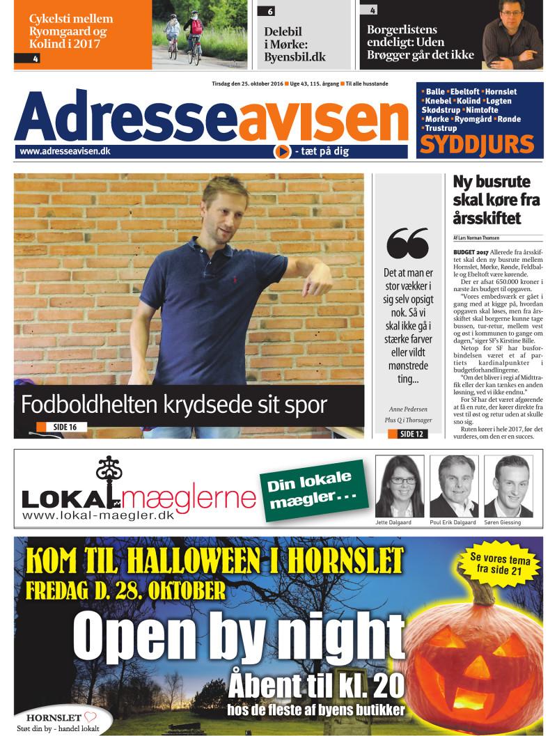 73a9ea3b Lokalavisen.dk - Adresseavisen Syddjurs - Uge 43