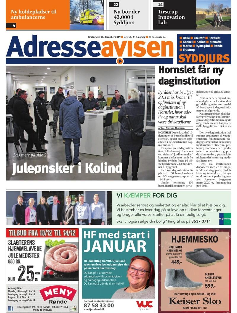 Lokalavisen.dk Adresseavisen Syddjurs Uge 52