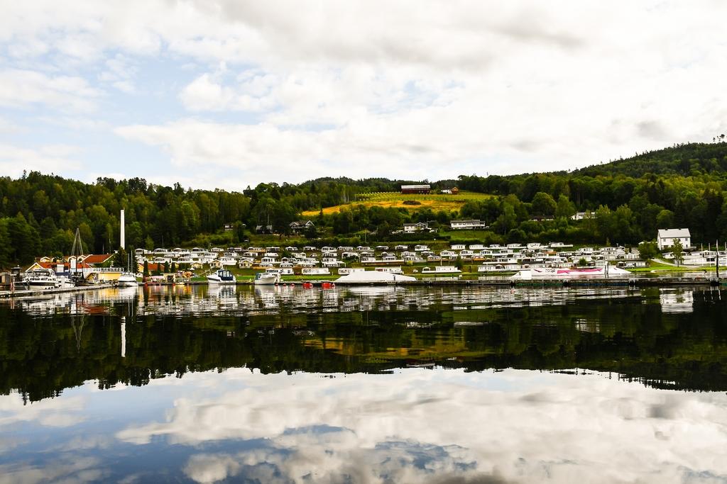 POPULÆRT: Nærmere 40 000 gjestedøgn på Norsjø ferieland i sommer.