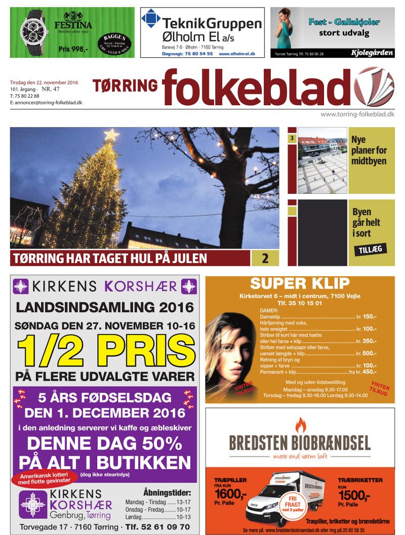 6a517931 Tørring Folkeblad - 2016-11-22