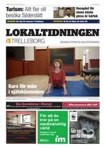 Förstasida Lokaltidningen Trelleborg