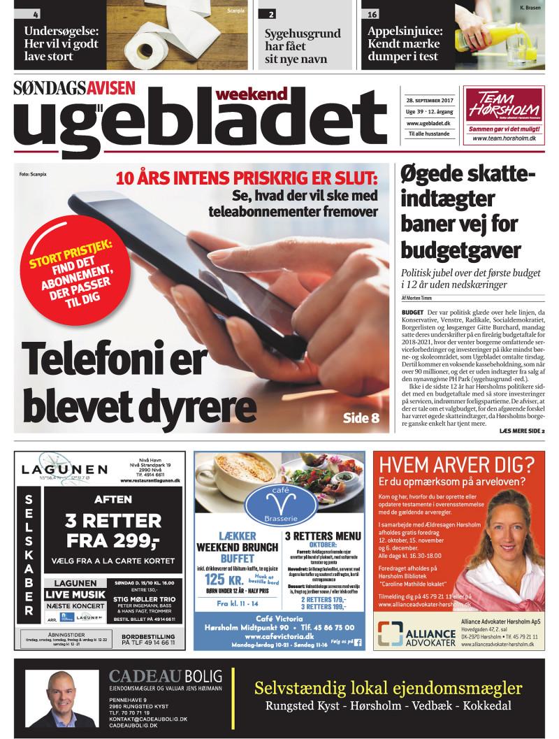 Lokalavisen.dk Ugebladet Weekend Uge 39