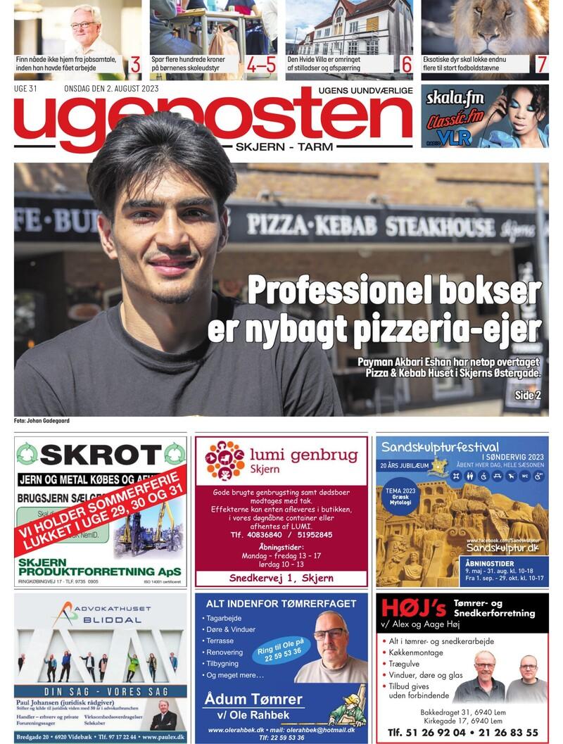 e5f70fb81d6 Ugeposten Skjern | Nyheder fra Ugeposten Skjern | Ugeavisen.dk