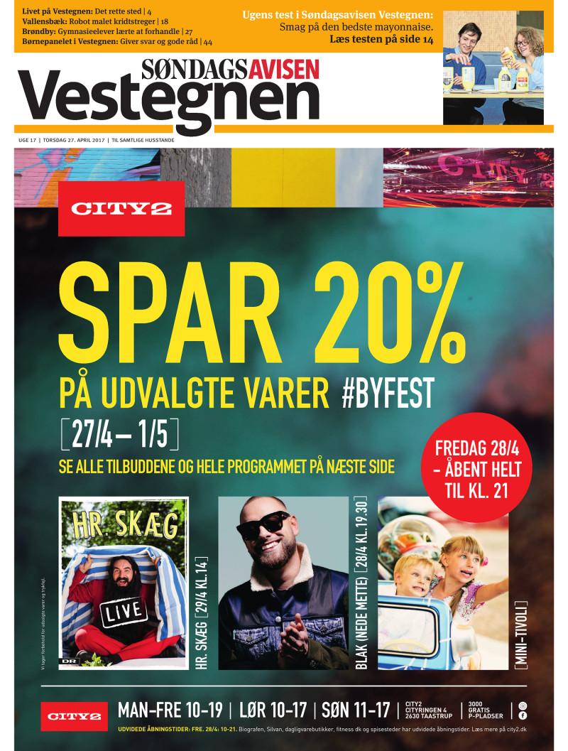 Picture of: Sondagsavisen Vestegnen Uge 17