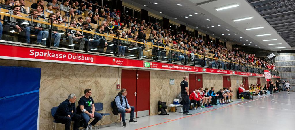 Wann in der Homberger Glückauf-Halle wieder Handball zu sehen sein wird, ist völlig offen.                                              <b>Arnulf Stoffel</b>
