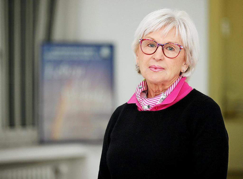 Ursula König leitet das Ambulante Hospiz Mülheim.                                              <b>Michael Dahlke</b>                                              FUNKE Foto Services